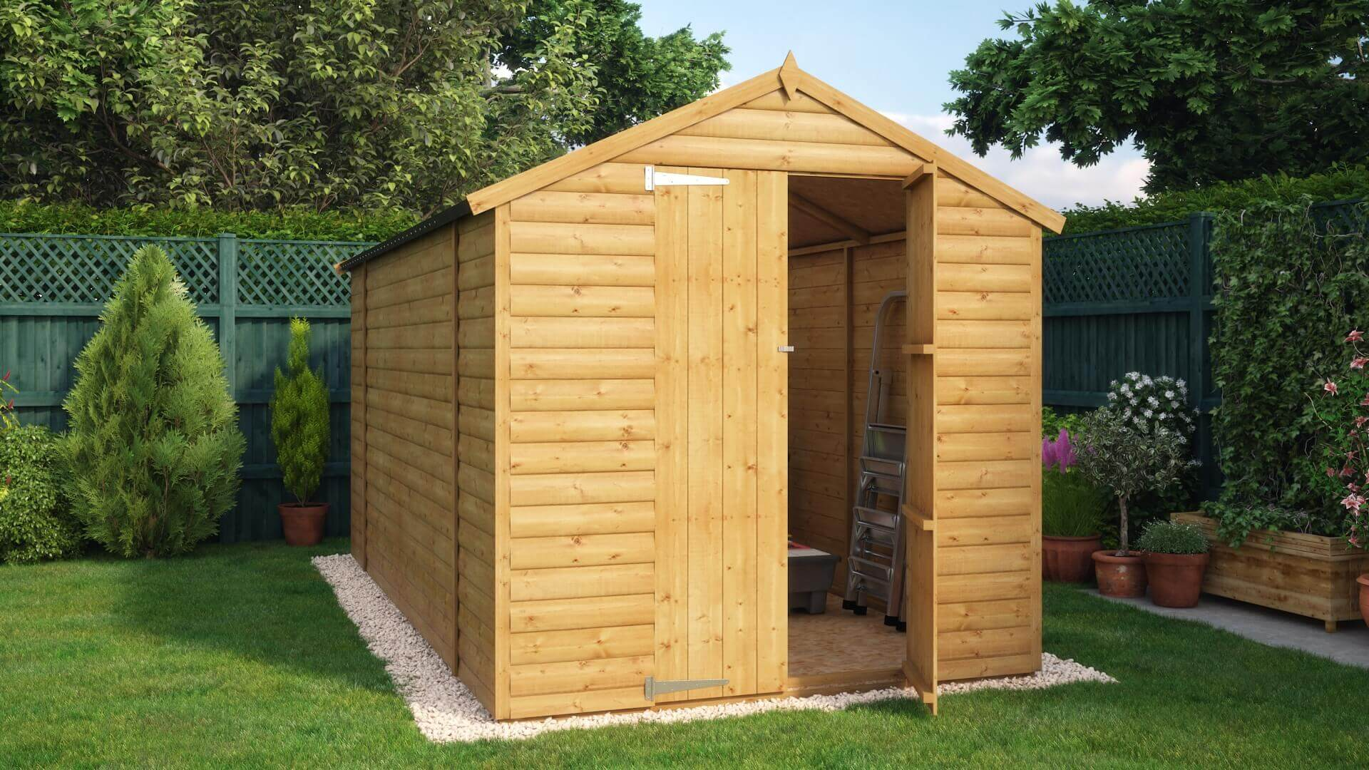 Ft X Ft Loglap Windowless Garden Shed Archives Project Timber - Difference between log lap sheds and ship lap sheds