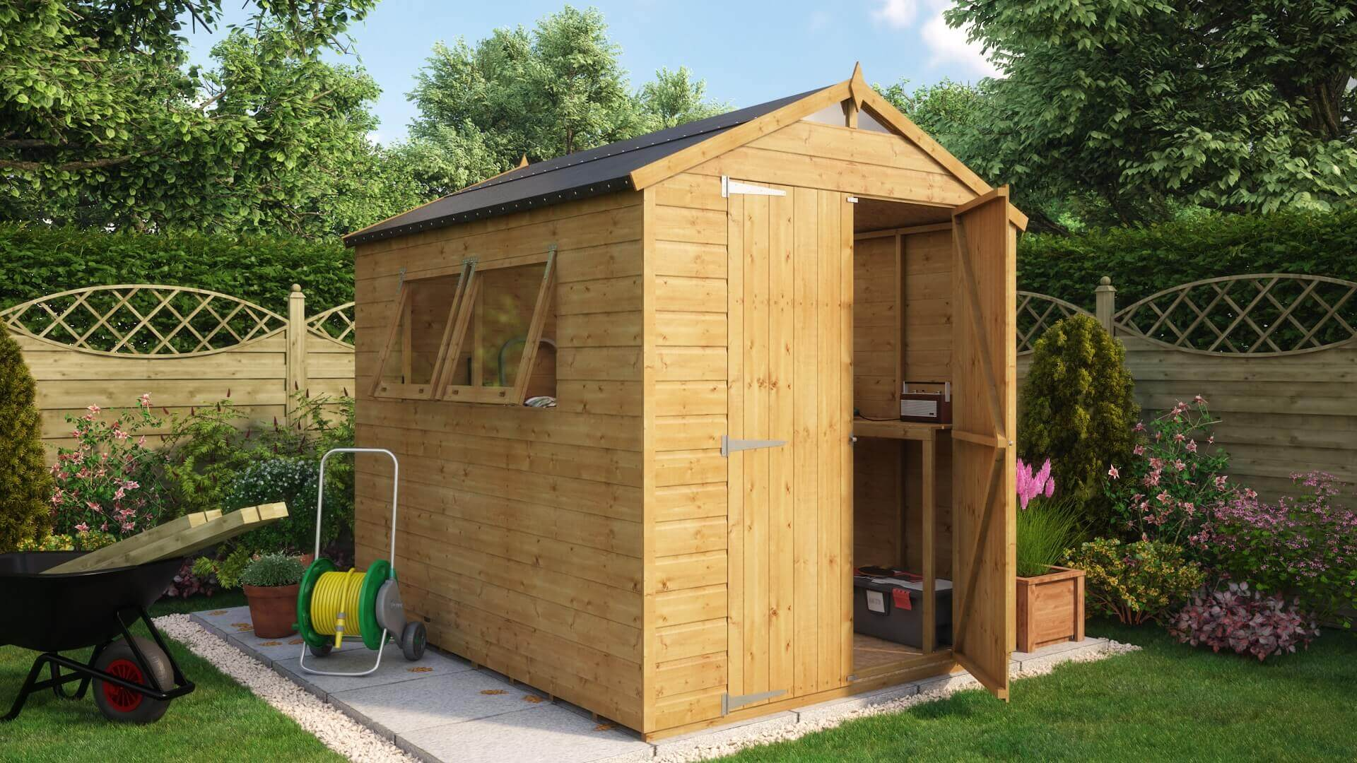 Traditionalapex Windows Garden Sheds Wooden Sheds Project - Difference between log lap sheds and ship lap sheds