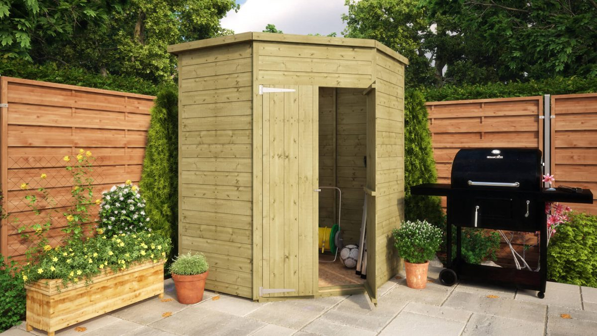 Pressure Treated Loglap Windowed Garden Shed Project Timber - Difference between log lap sheds and ship lap sheds