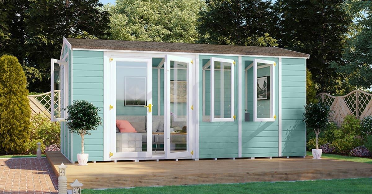 Diplomat Summerhouse Offset Door category image