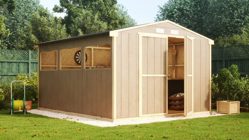 12ft x 10ft truman garden shed