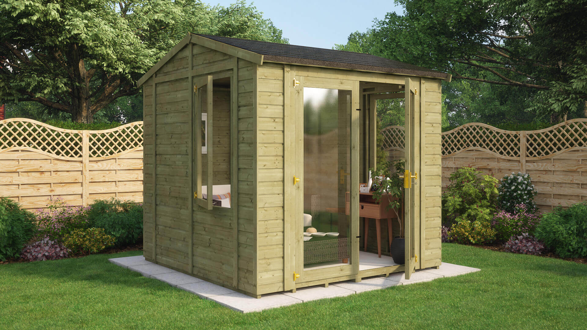 Pressure Treated Diplomat Grandmaster Summerhouse