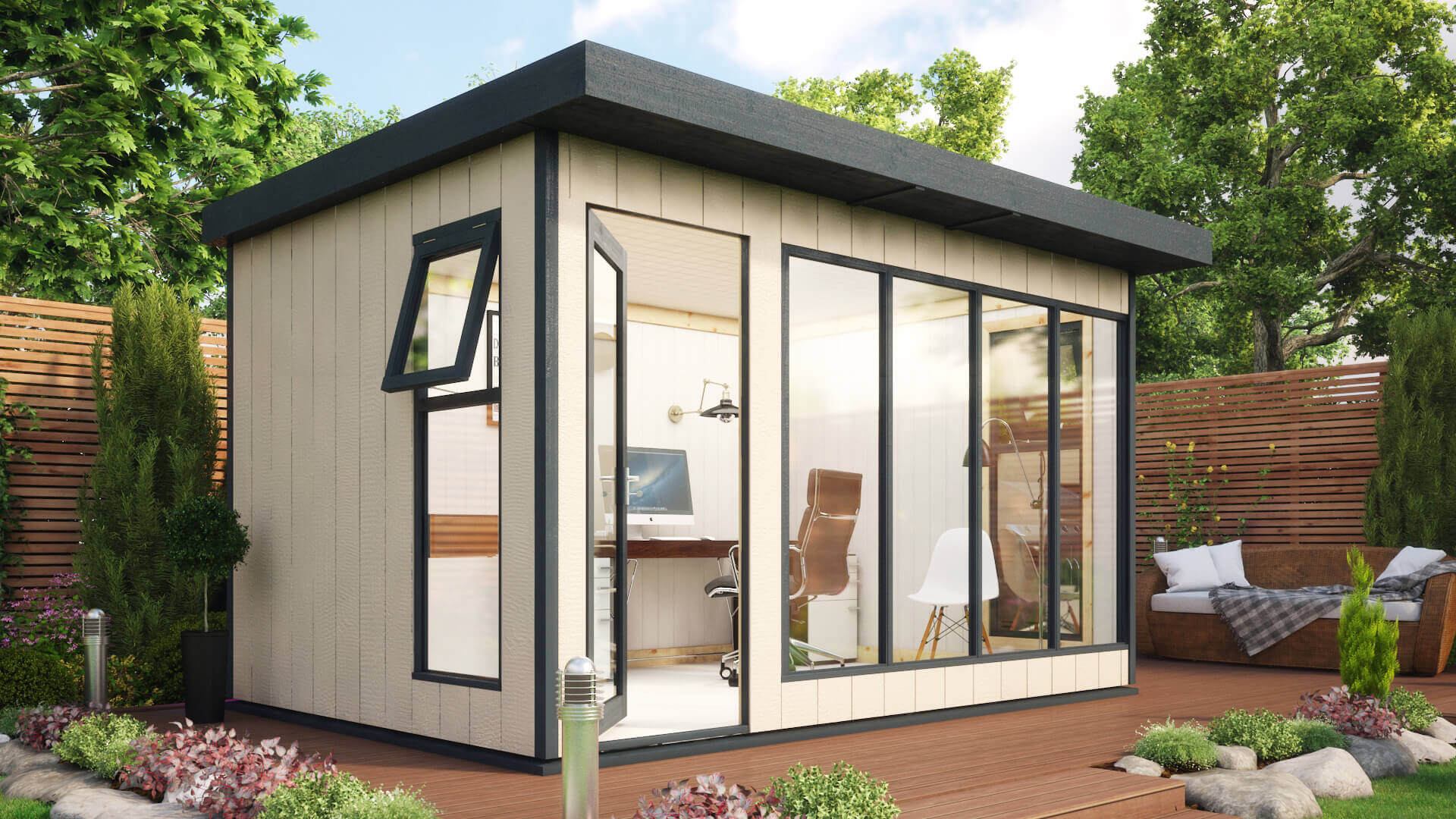 The Project Timber Evolution Insulated Garden Office