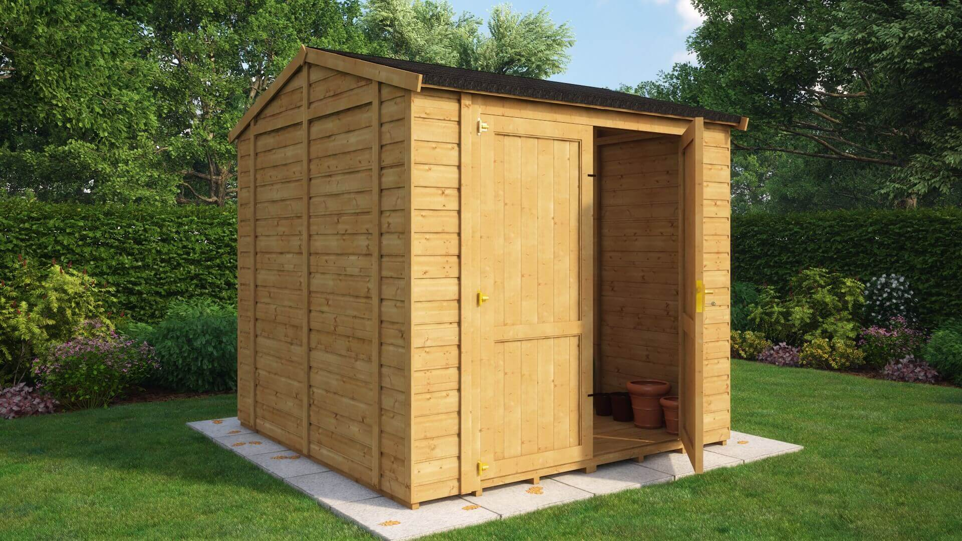 Traditional Windowless Grandmaster Workshop Shed