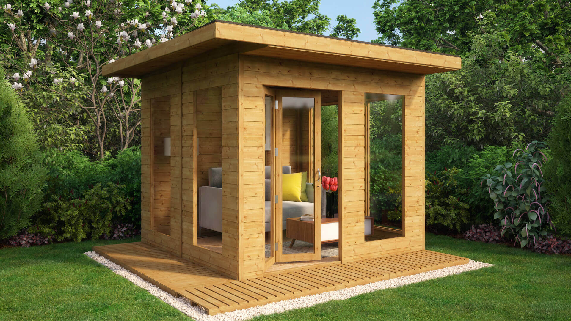 Lounge Contemporary Summerhouse