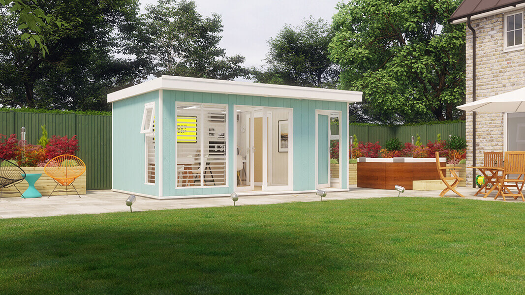 terrific insulated garden room | Insulated Garden Office | Evolution Insulated Garden Room ...