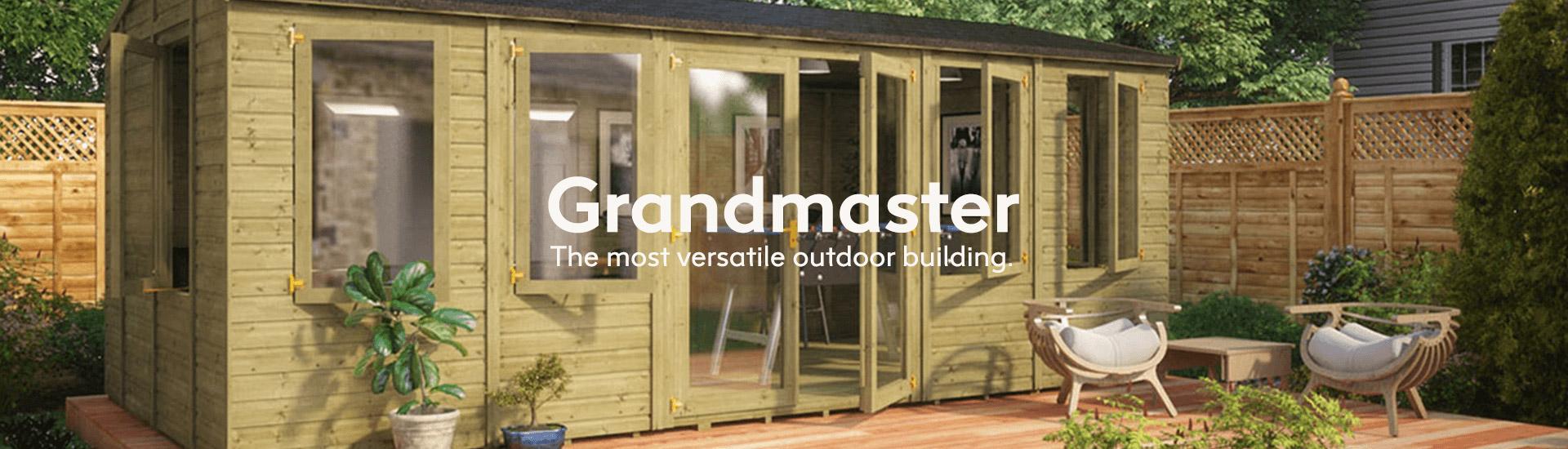 Grandmaster The most versatile outdoor building