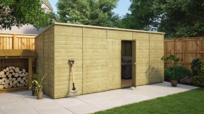 16 X 6 Sheds Wooden Garden Sheds Free Delivery Project Timber