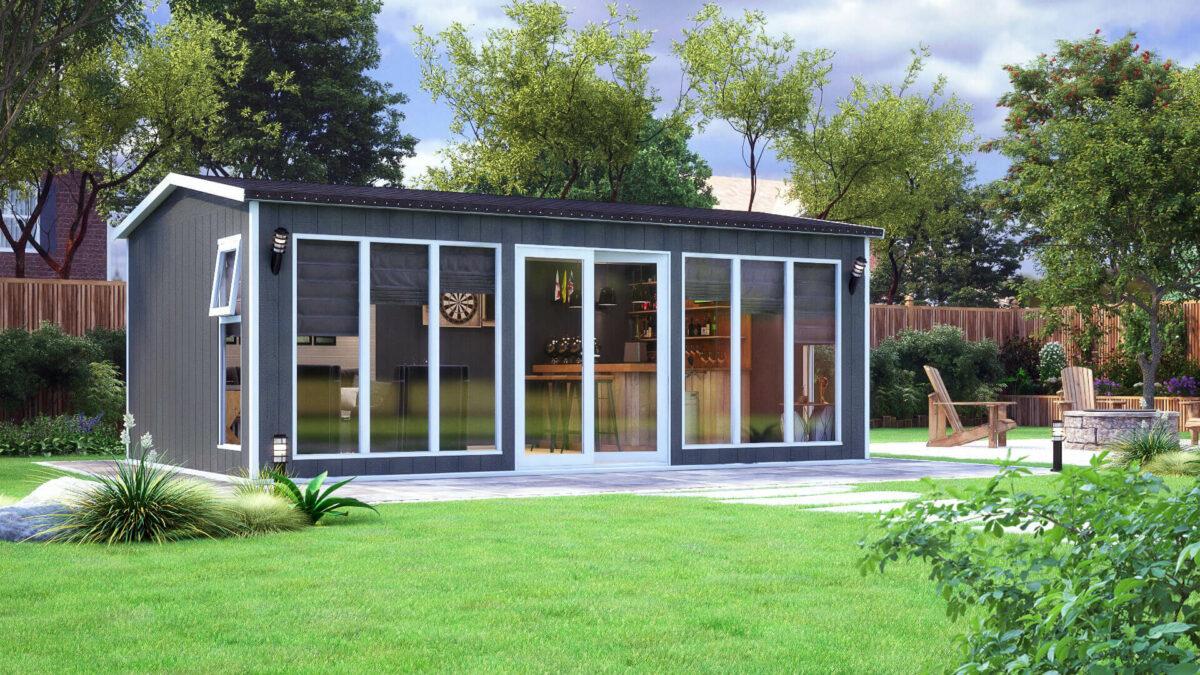 20ft x 12ft evolution garden office apex shed