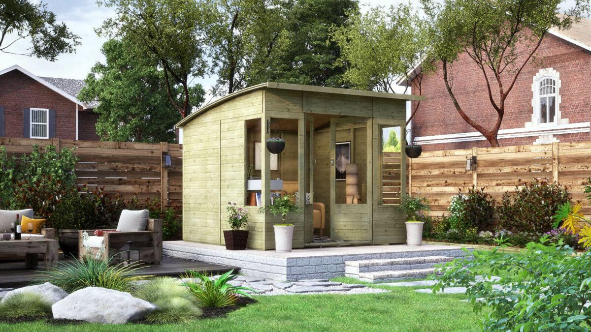pressure treated modular verano summerhouse