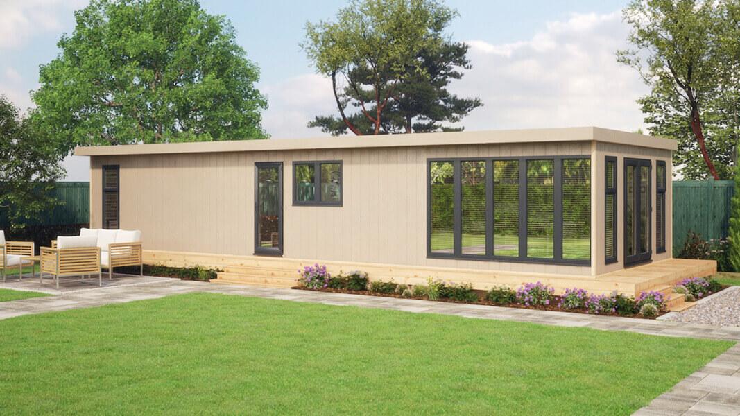 40ft x 14ft evolution residential garden room
