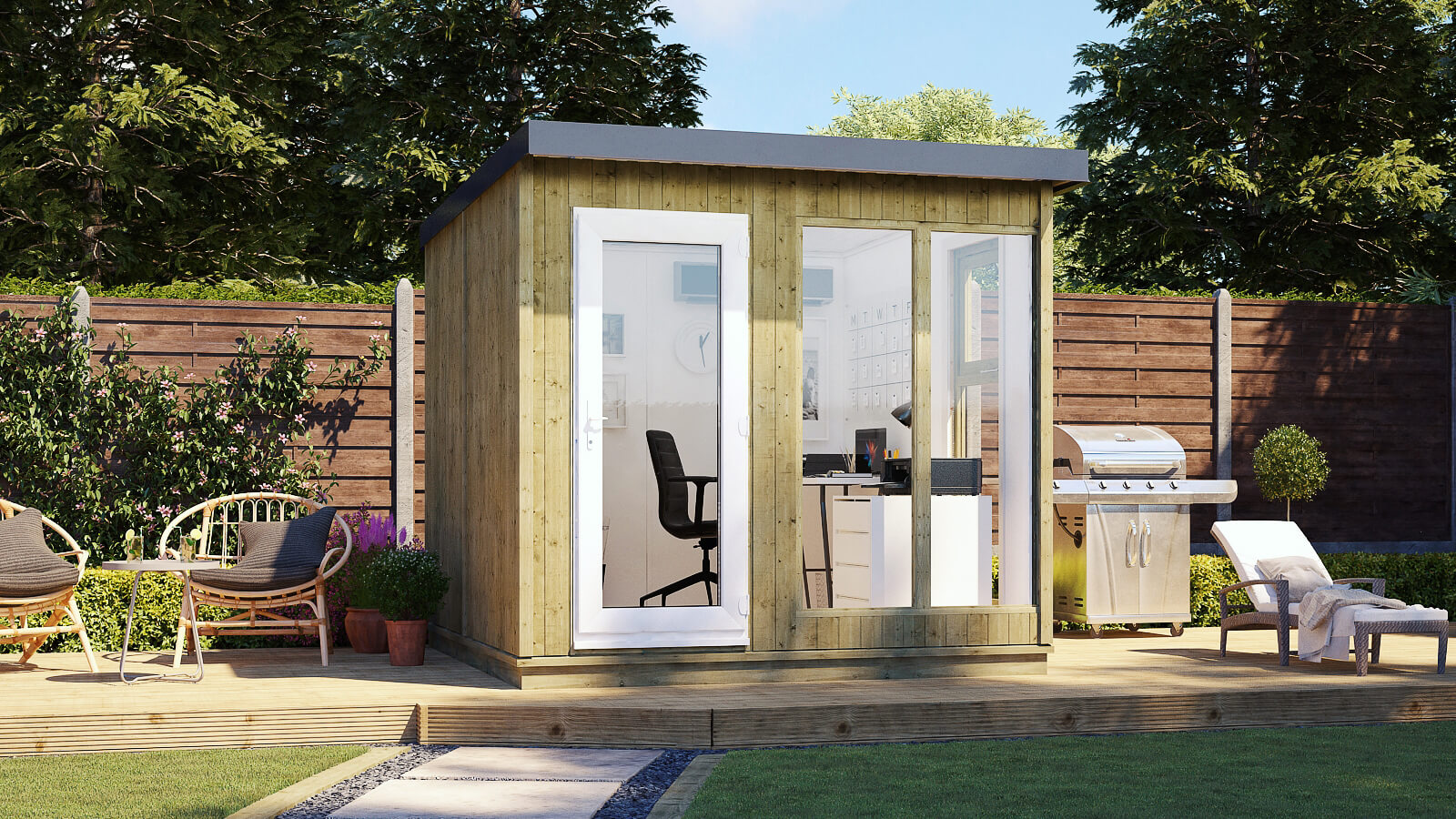 Evolution Insulated Garden Office