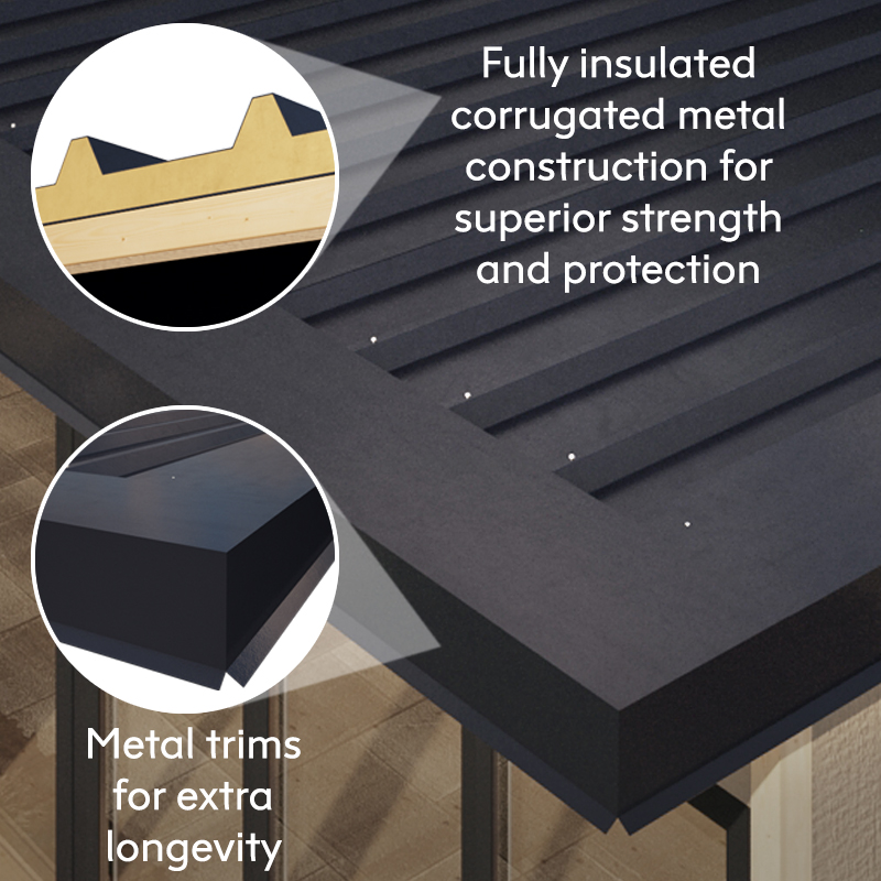 Insulated Metal Roof