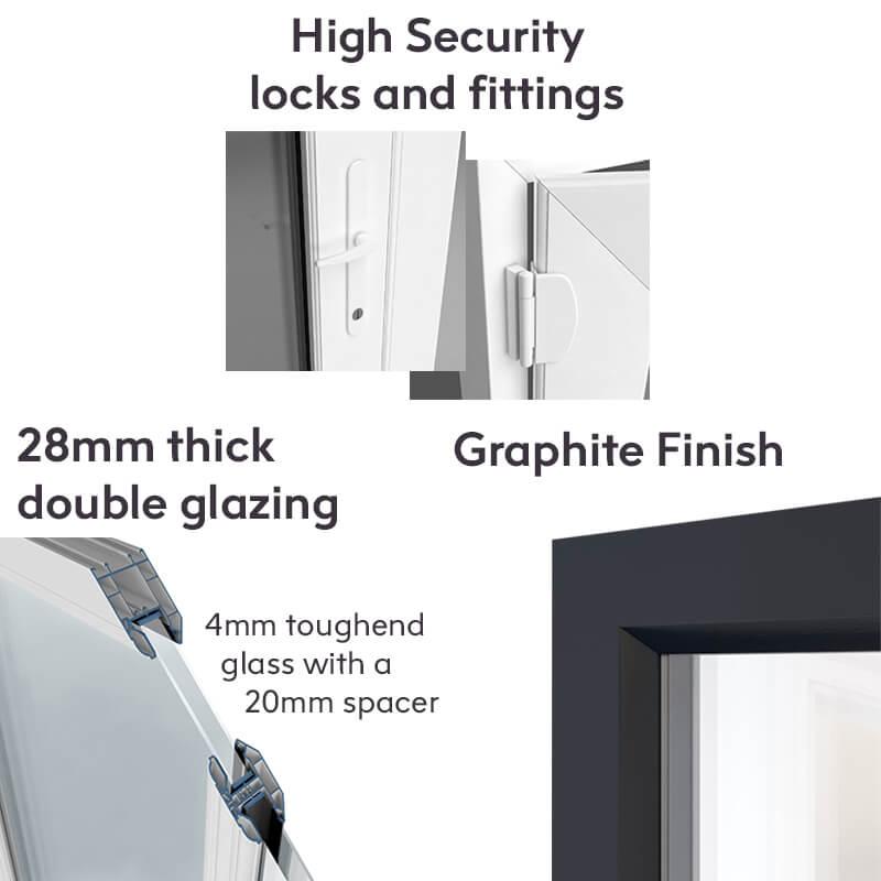 UPVC Windows and Doors as Standard