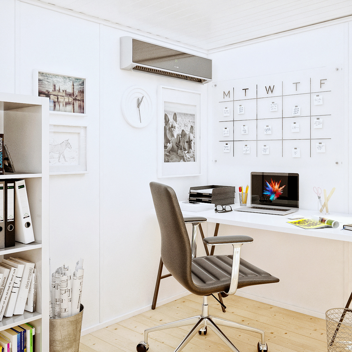 The perfect work from home garden office