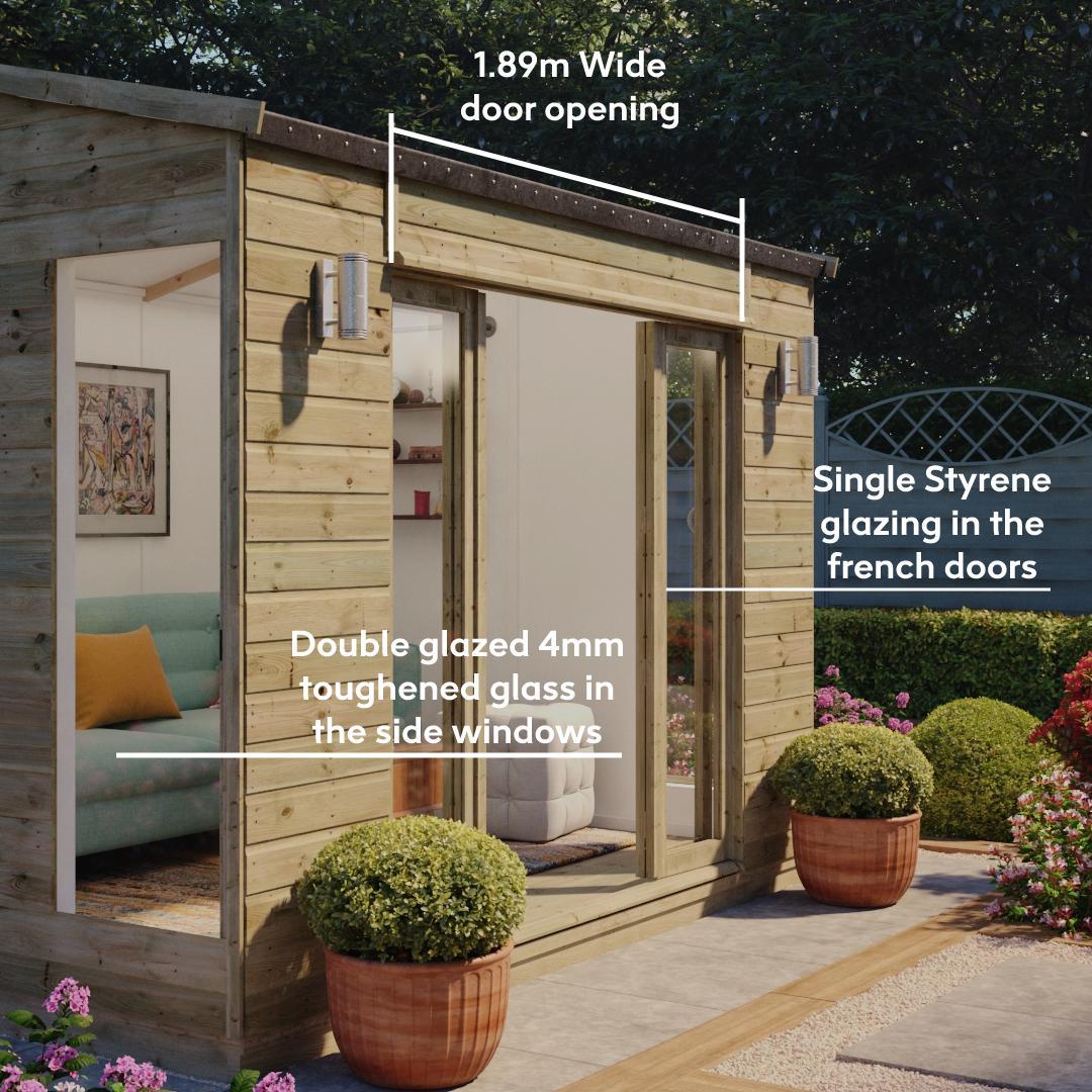 cannes summerhouse in style
