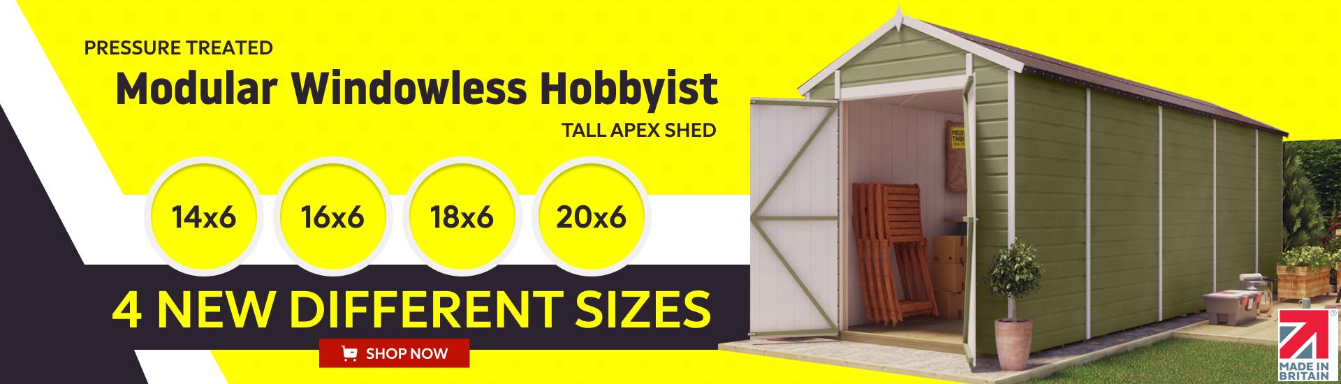 Modular Windowless Hobbyist